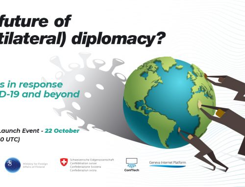 The future of (multilateral) diplomacy: Programme