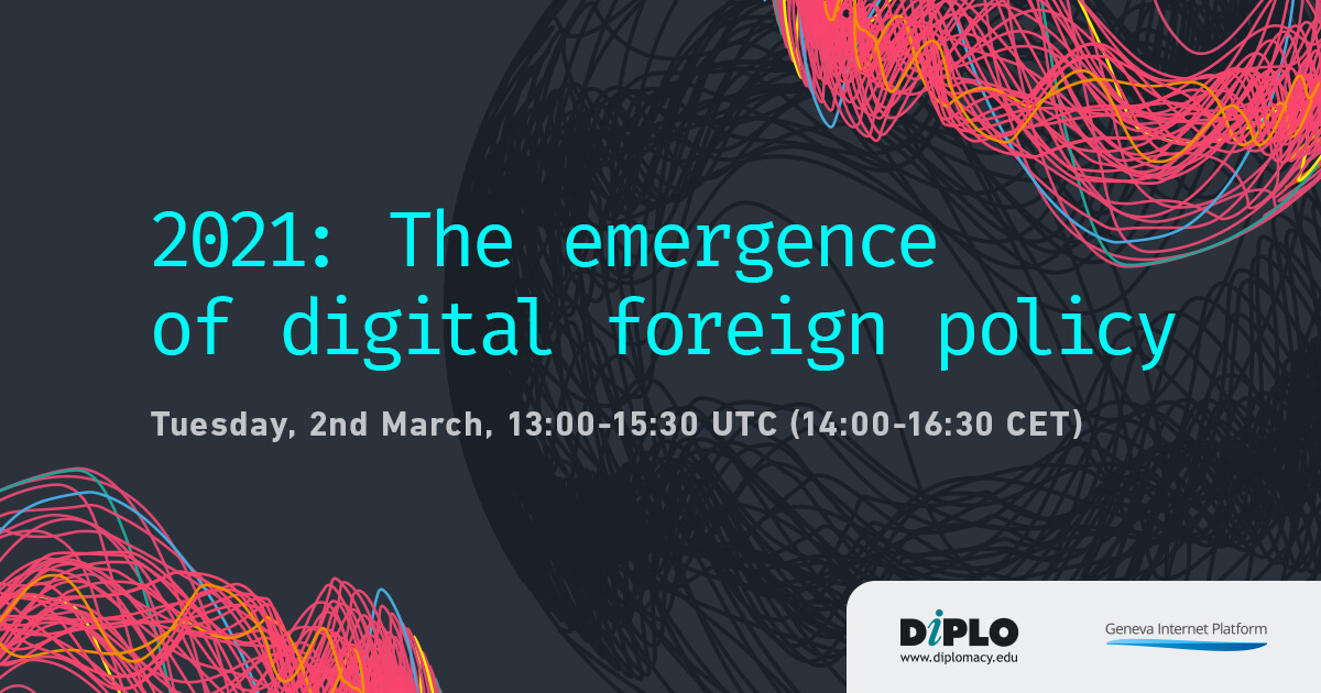 2021 The emergence of digital policy