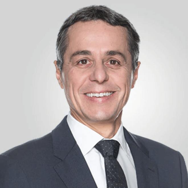 Federal Councillor Mr Ignazio Cassis